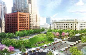Rendering of what Public Square may look like in the future. Photo courtesy of Cleveland.com