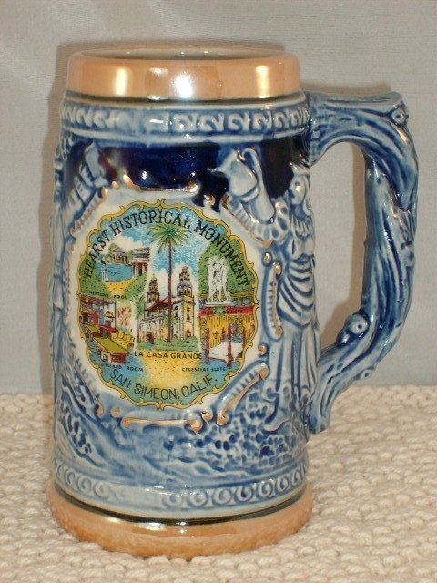 HEARST HISTORICAL MONUMENT CERAMIC MUG #2 - EXCELLENT!