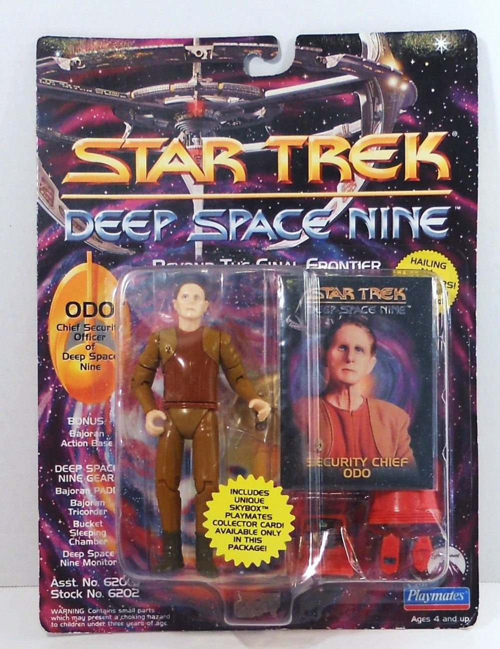 Star Trek Deep Space Nine DS9 Odo Security Playmates Figure 1993
