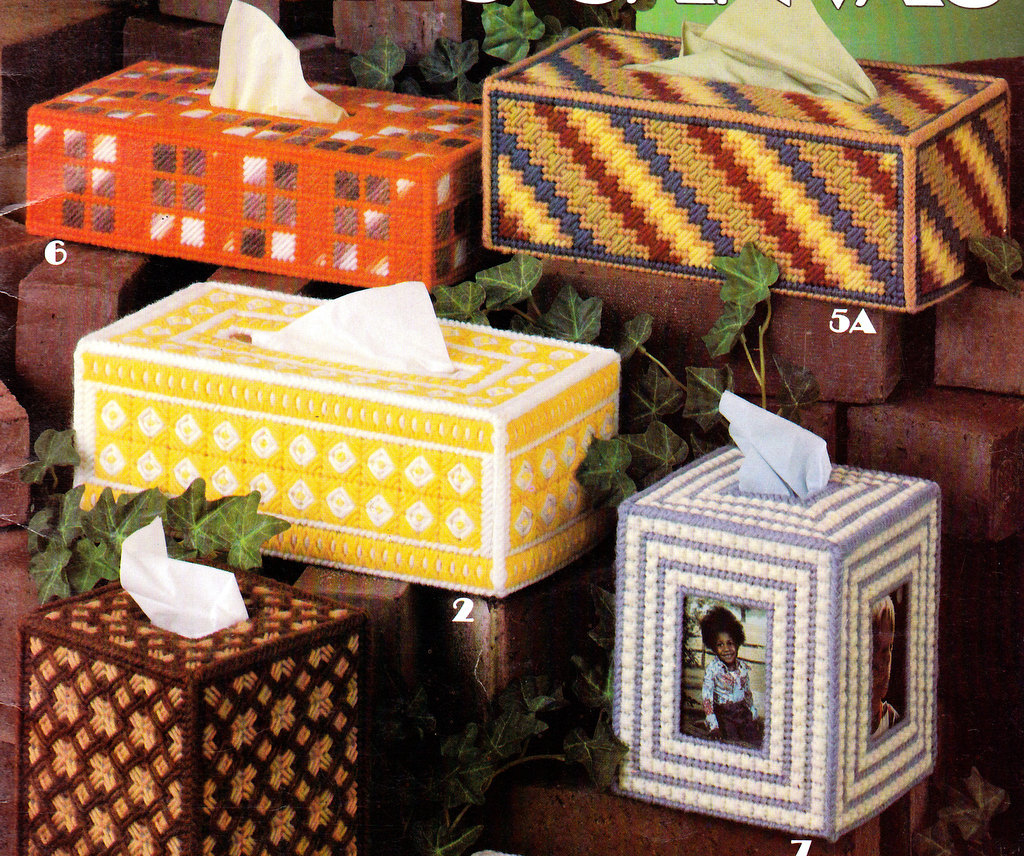Plastic Canvas Patterns Tissue Box Covers For Plastic