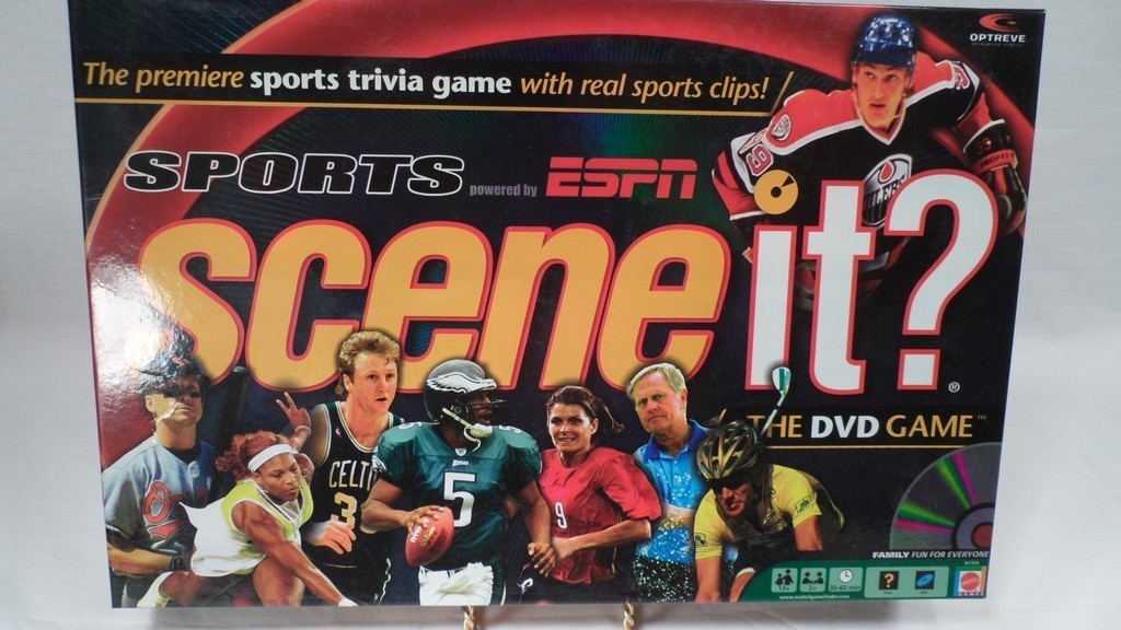 Espn Man Cave Show : Scene it sports espn edition trivia party game