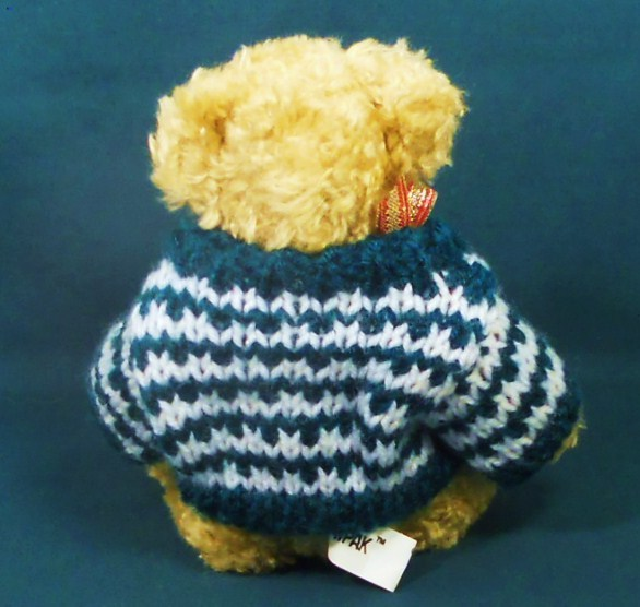 Image 2 of Holiday Teddy Bear 9 inch decorative accent gift