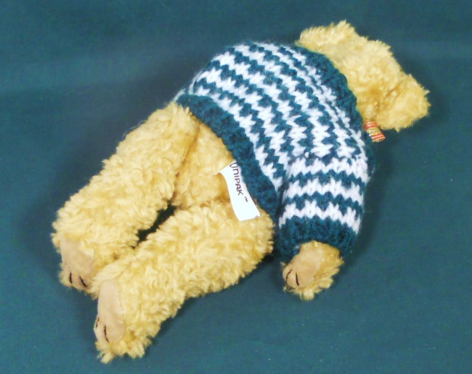 Image 5 of Holiday Teddy Bear 9 inch decorative accent gift