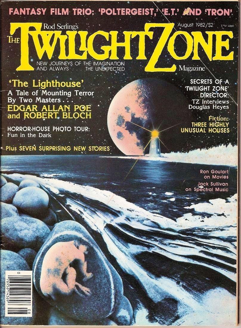 Image 0 of Twilight Zone Magazine Rod Serling Aug 1982 original Tron Iss