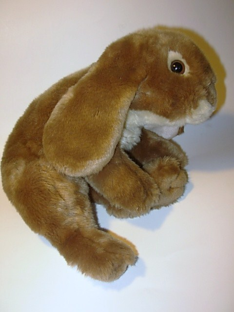 Animal Alley Brown Bunny Rabbit Plush Hare Stuffed Animal Realistic Toys R Us