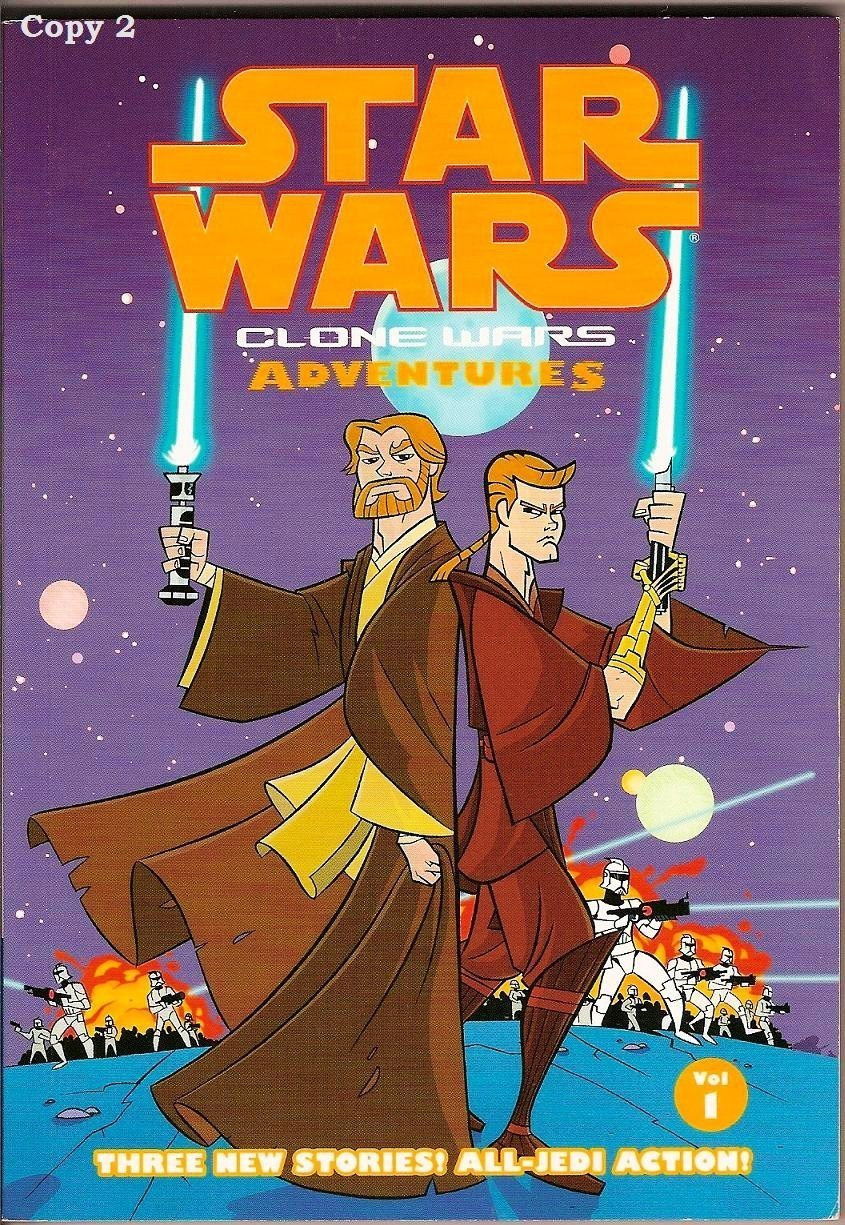 Image 3 of Clone Wars Adventures Vol 1 Star Wars Dark Horse Comic