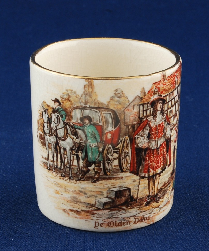 Lancaster & Sandland Ware Ye Olden Days Demitasse Cup - Other