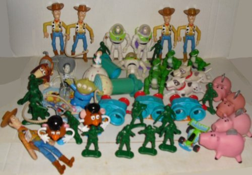 Big Lot of 42 TOY STORY fast food Toys