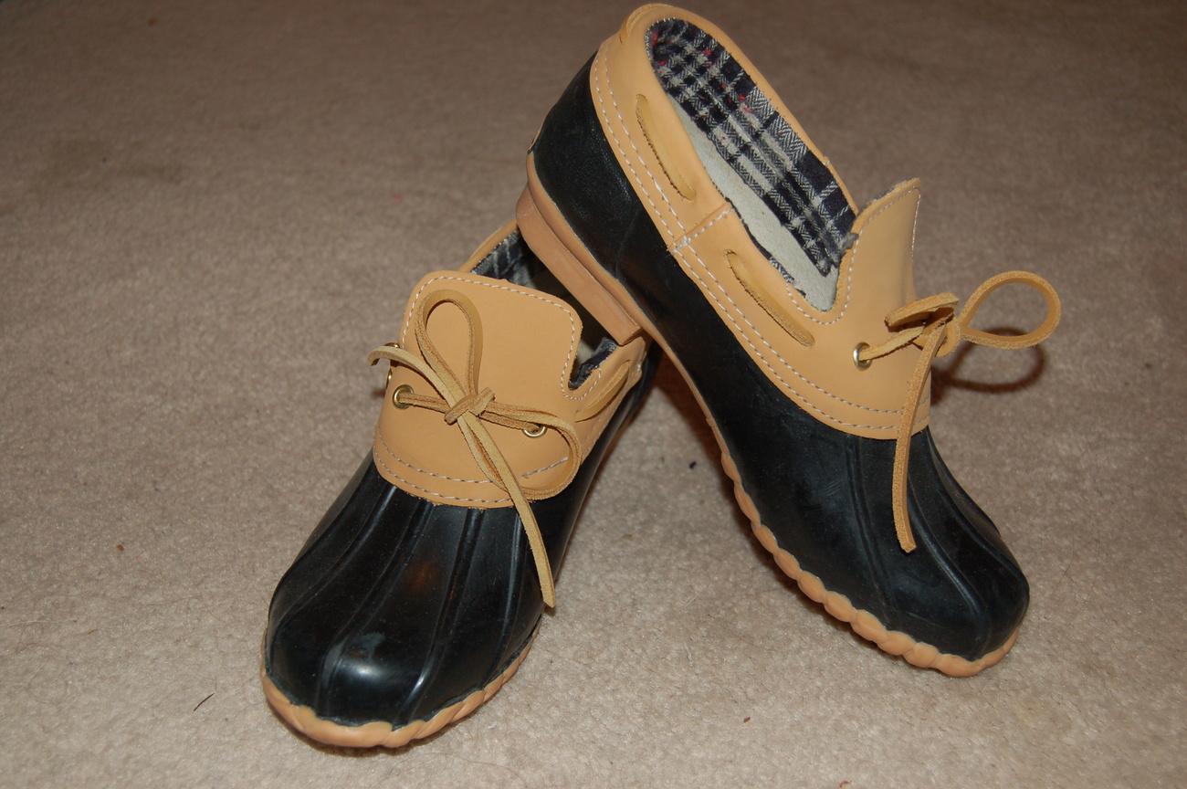 sporto duck shoes s 6m navy blue flats oxfords