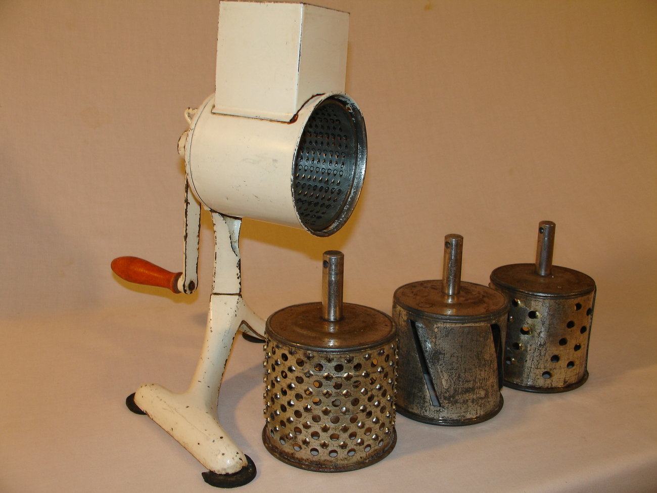 German Hand Crank Food Grater Vintage - Other