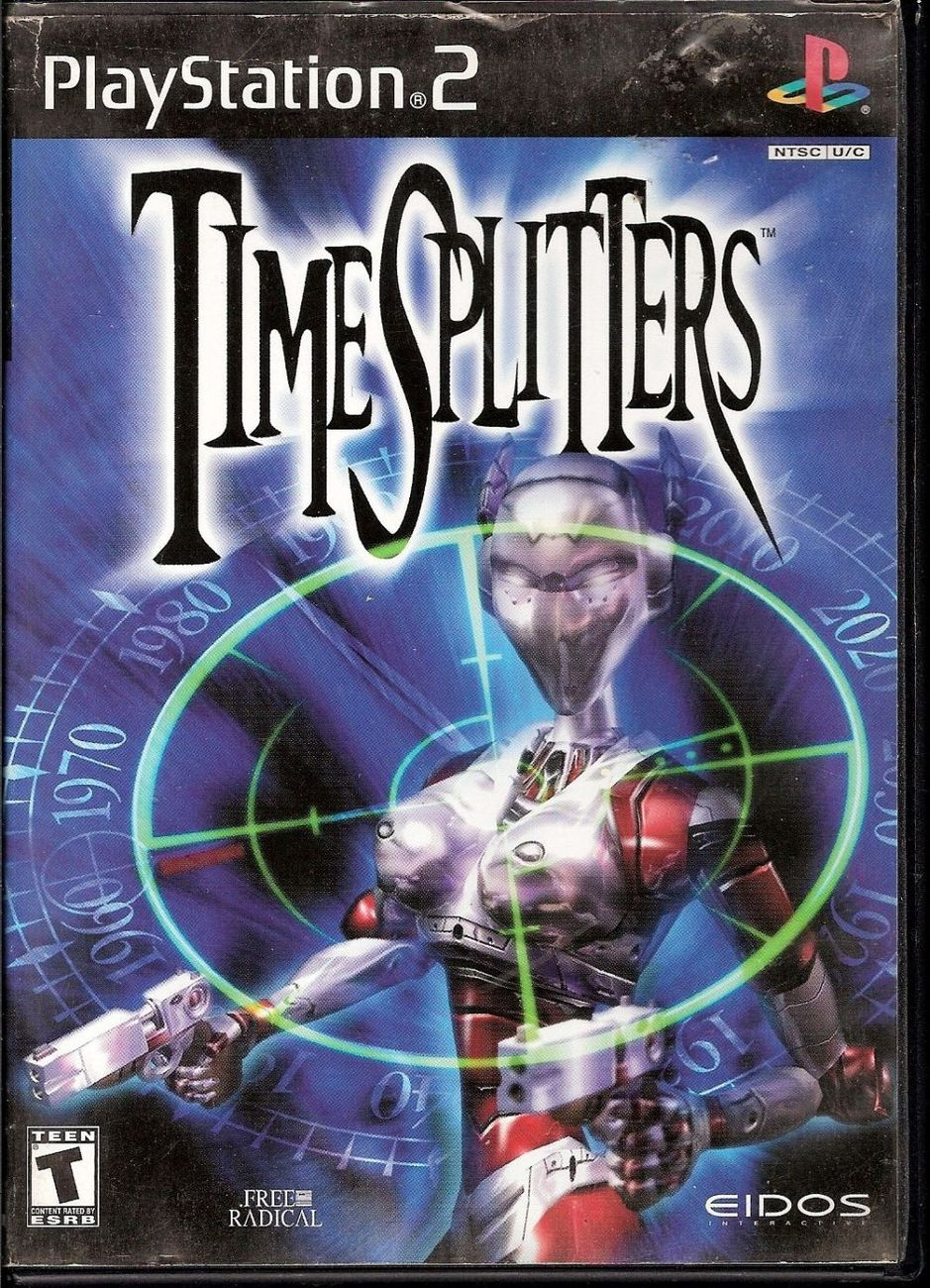 TimeSplitters EIDOS PlayStation 2 video game 2000