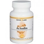 Actodin~Swiss Labs~Powerful Joint Support~30 Capsules~Sealed~BRAND NEW