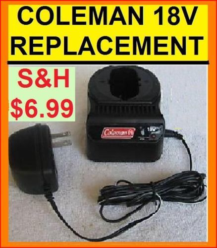 Coleman (Obsolete) 18v Volt Battery Charger Replacement