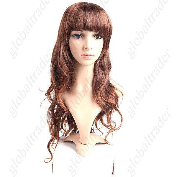 Princess Styling Synthetic Hair Long Curl Wig Hairpiece