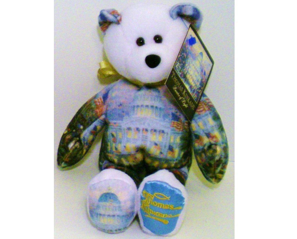 Image 0 of Thomas Kinkade Flags over the Capitol Bear 004 Ltd Treasures