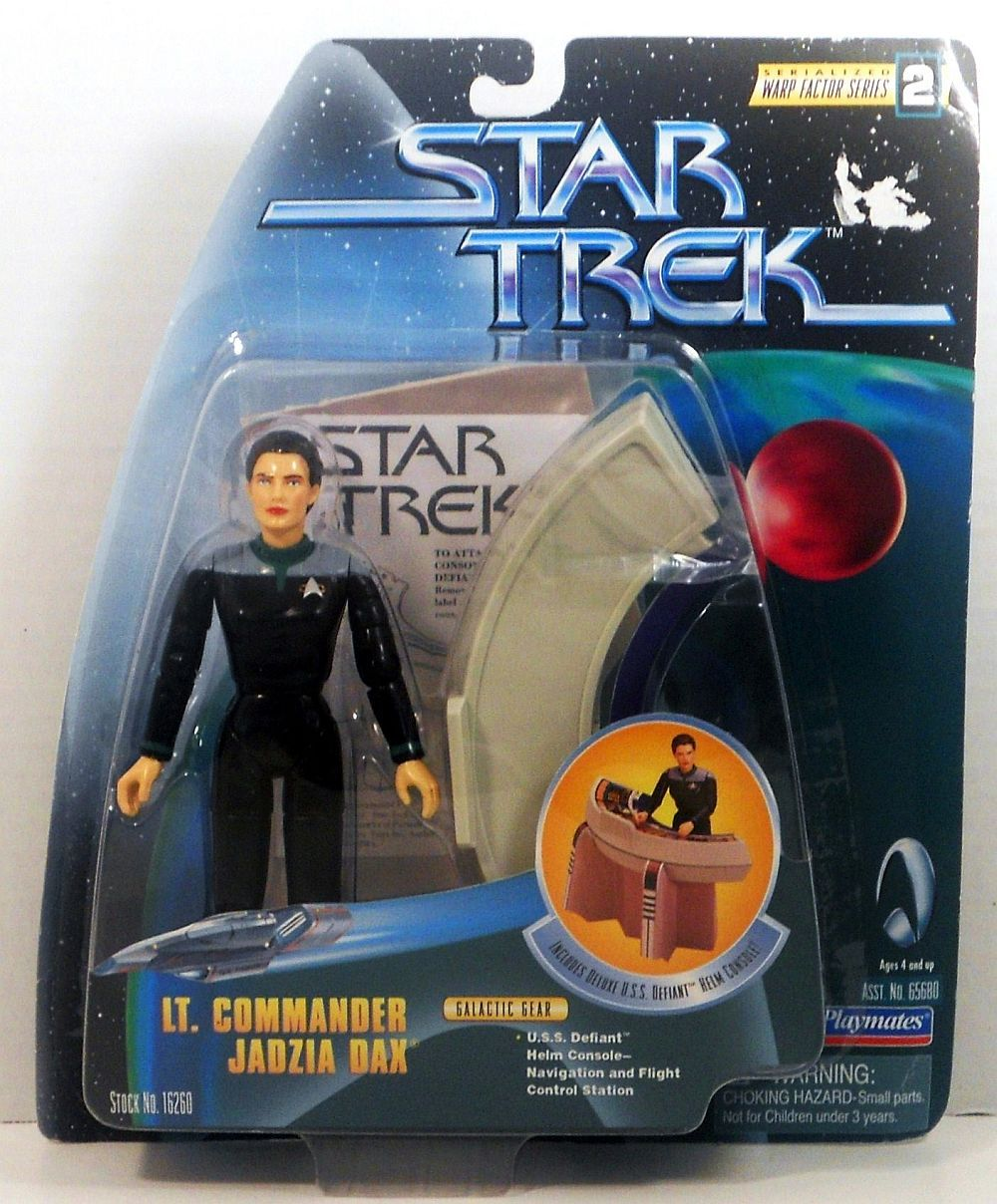 Star Trek DS9 Lieutenant Jadzia Dax Warp Factor Series 2