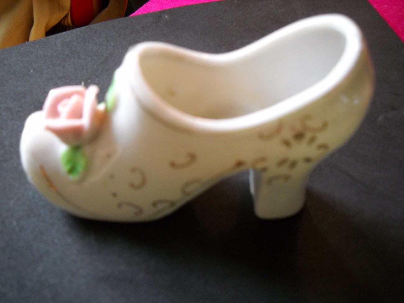 Sold Jewels Vintage Porcelain Boot Japan