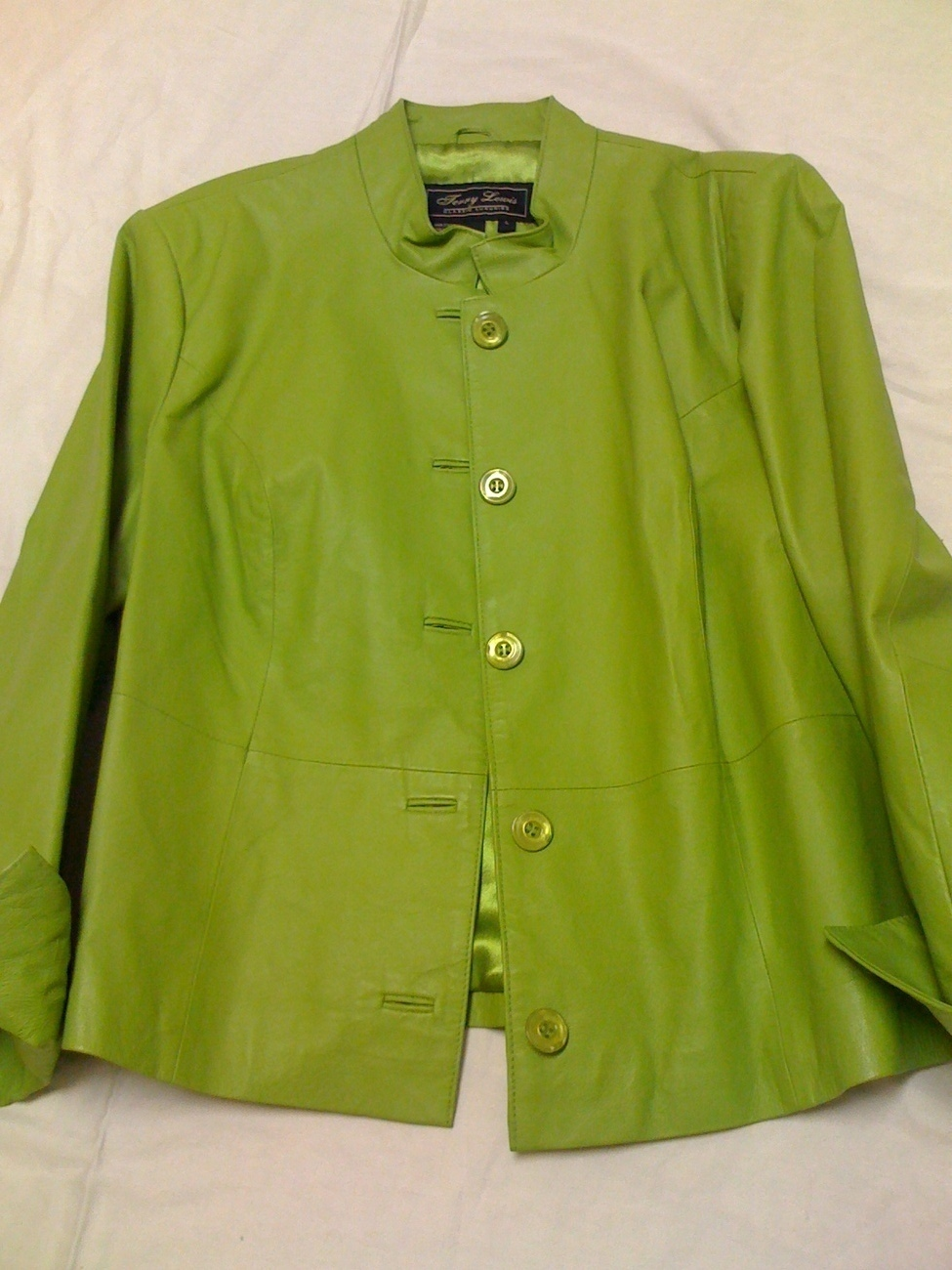 TERRY LEWIS CLASSIC LUXURIES LEATHER JACKET/PANTS  Large/14