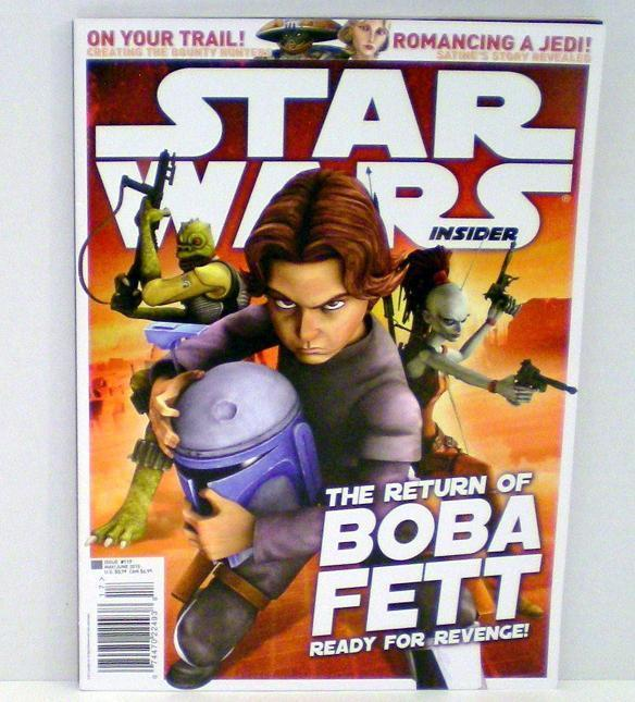 Image 2 of Star Wars Insider No 117 The Return of Boba Fett 2010