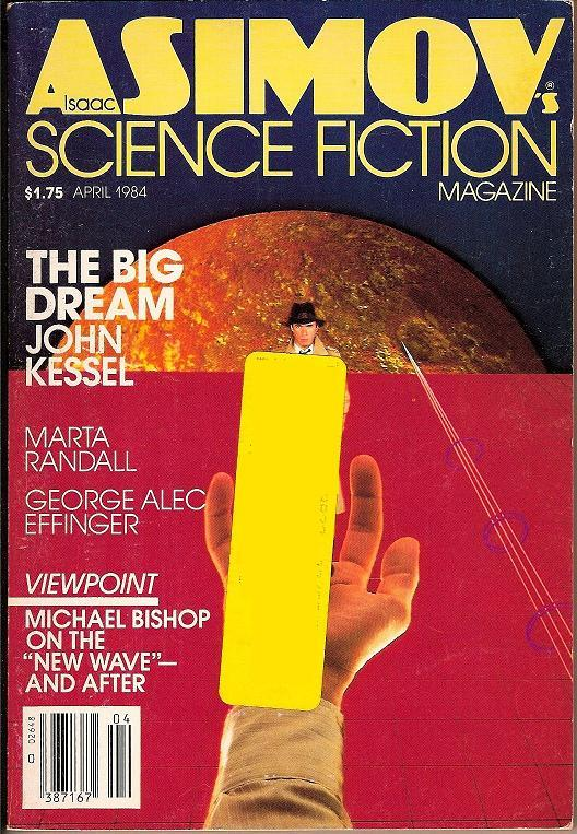 Isaac Asimov's Science Fiction Magazine April 1984