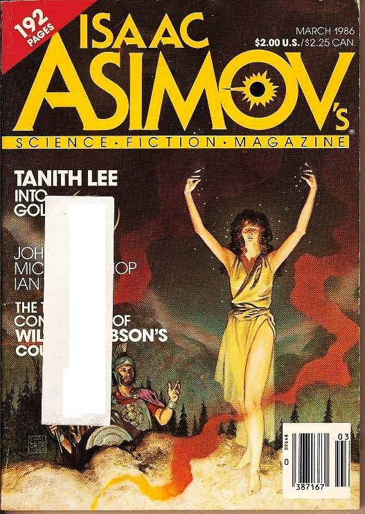 Isaac Asimov's Science Fiction Magazine March 1986