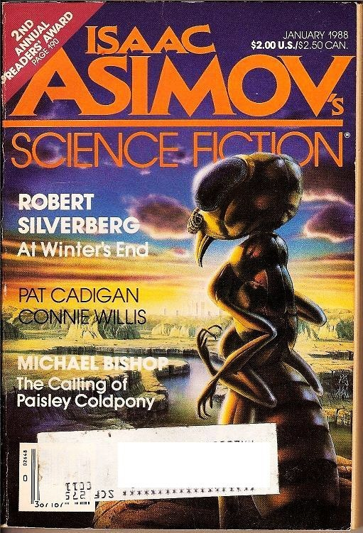 Isaac Asimov's Science Fiction Magazine January 1988