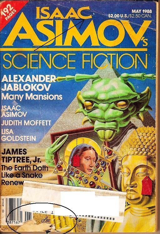 Image 2 of Isaac Asimov's Science Fiction Magazine May 1988