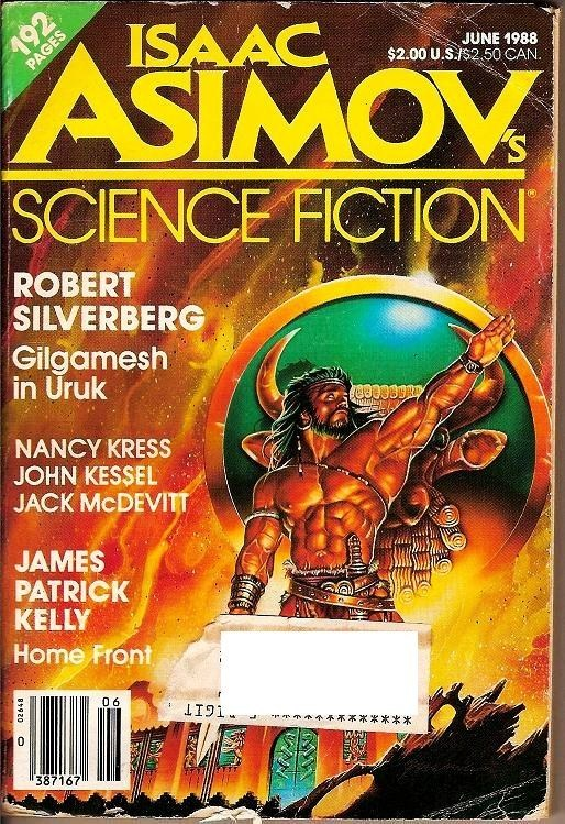 Isaac Asimov's Science Fiction Magazine June 1988