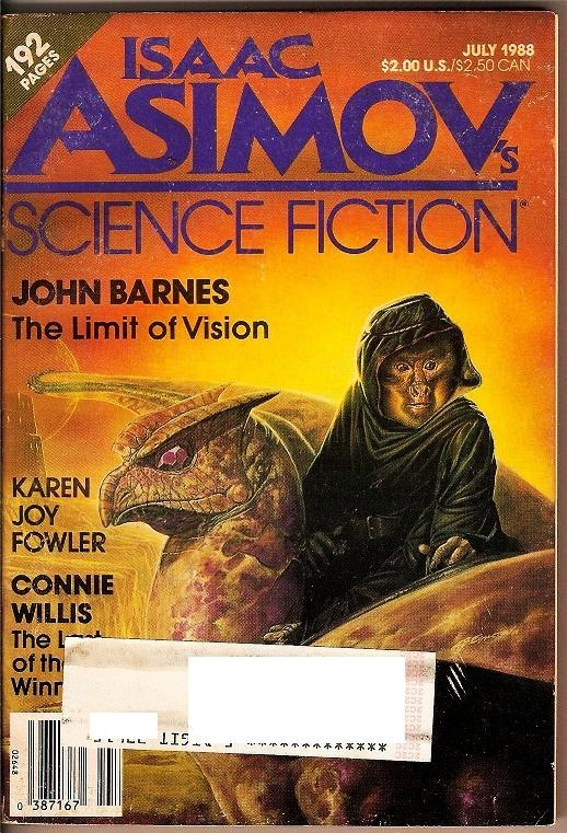 Isaac Asimov's Science Fiction Magazine July 1988