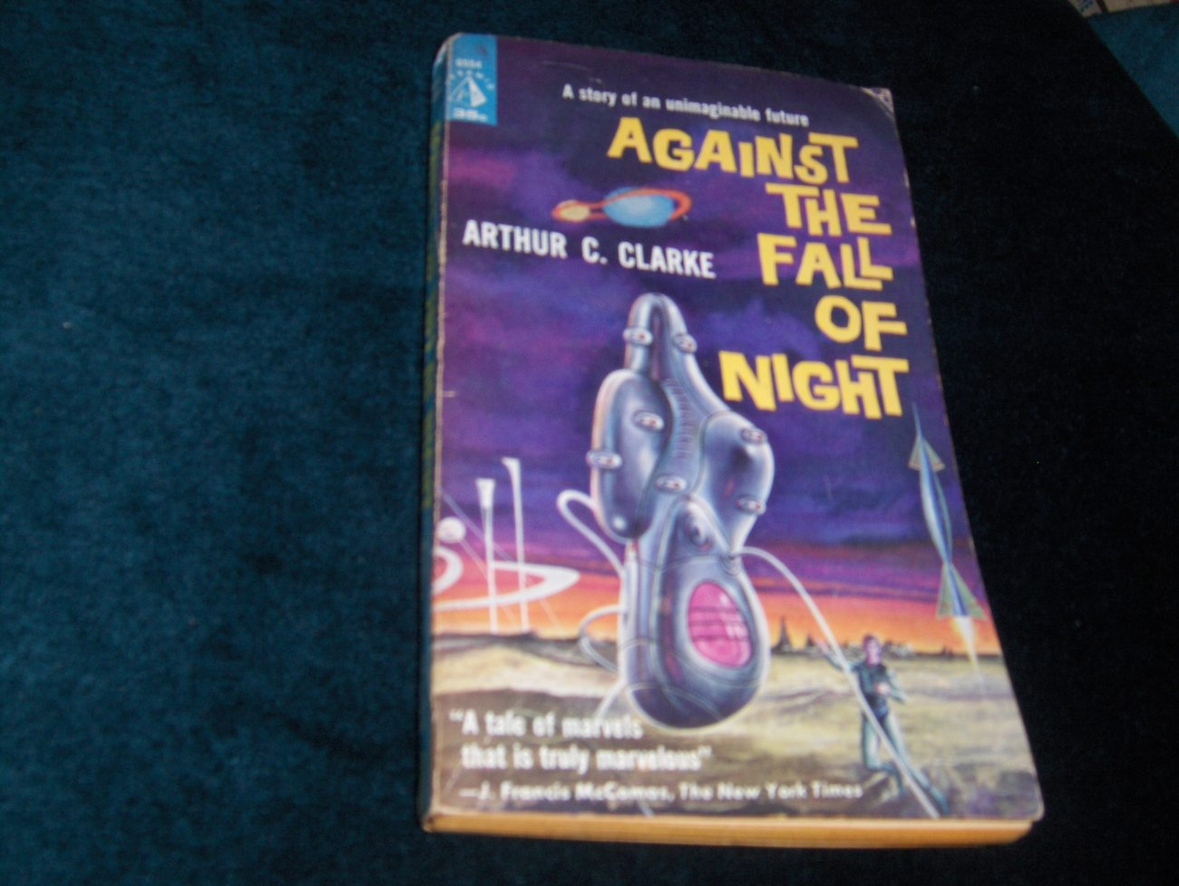 Against the Fall of Night 1960 Arthur C Clarke