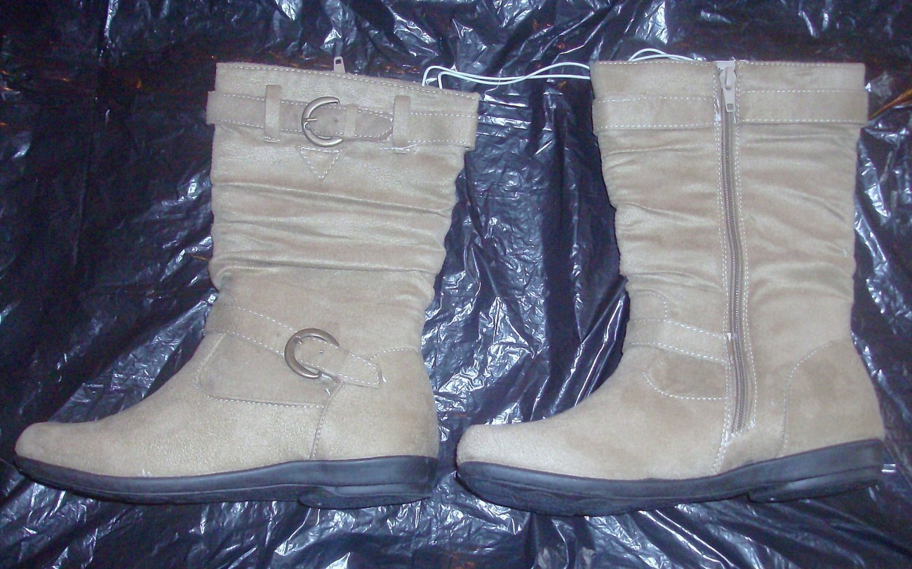 Girls Suede Like Boots Size 11 Bnw/ot