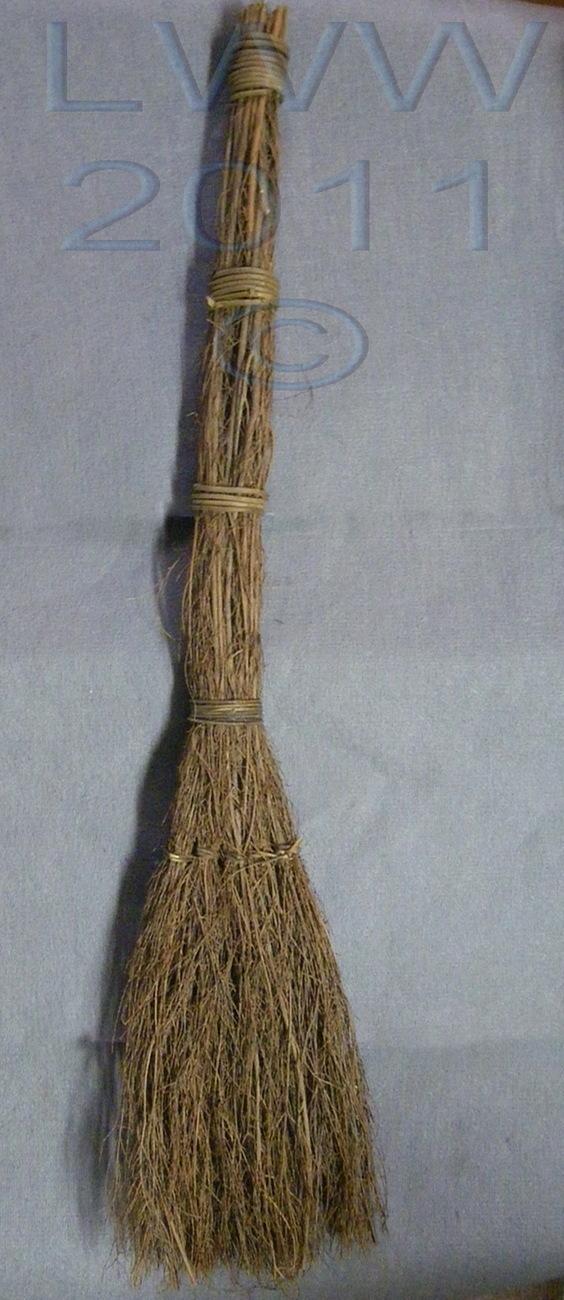 36 inch long Cinnamon Broom Besom Scented Holiday Yule ...