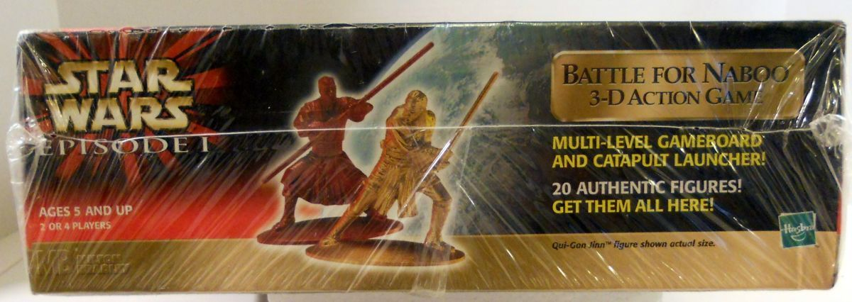 Image 3 of Star Wars Battle for Naboo 3-D action Hasbro unopened game