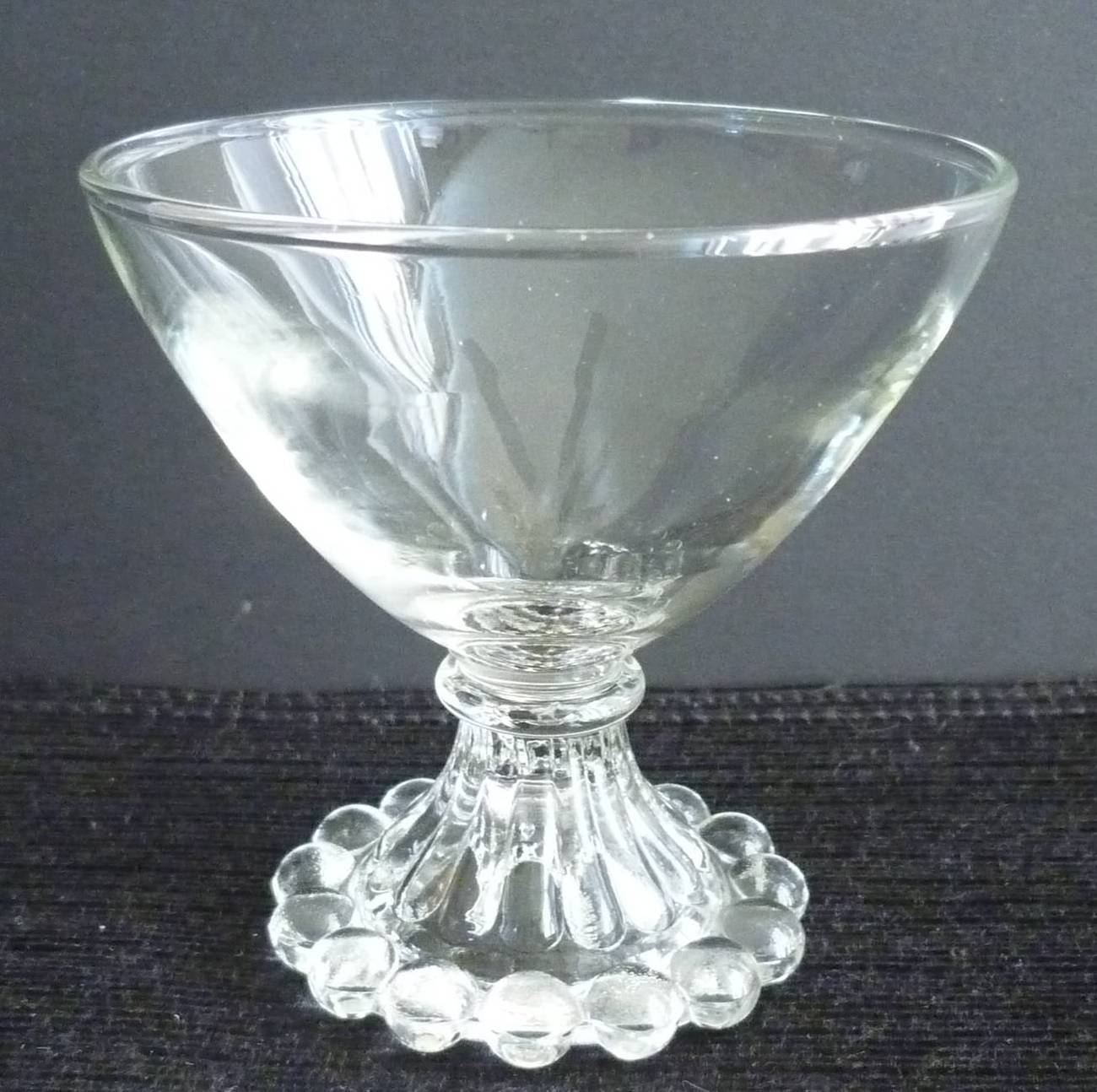 Vintage Anchor Hocking Crystal Clear Glass Berwick Boopie ...