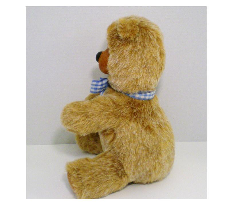 Image 1 of Robert Raikes Bears Woody Bear Joey 1987 No 4 of 50 Rare carved by R Raikes