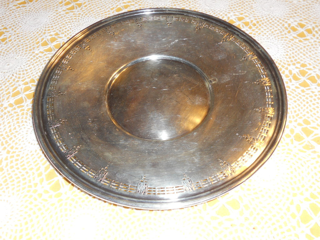 NickelSilver serving Plate