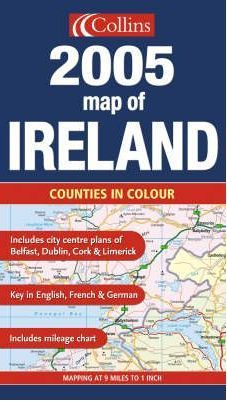 2005 Map of Ireland Map Travel Guide Collins