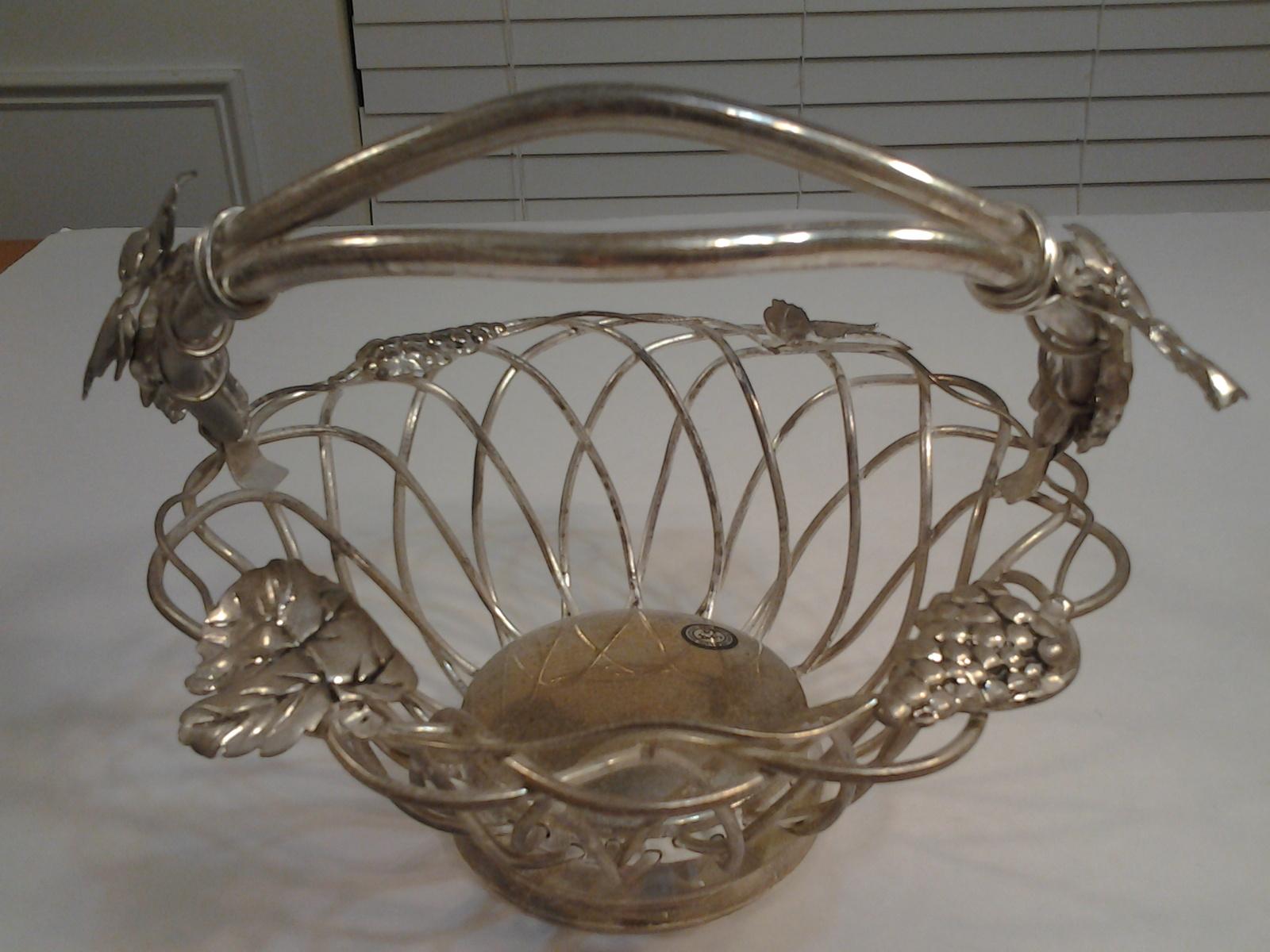 Godinger Silver Art Co Basket : Godinger silver art grape fruit basket with and similar