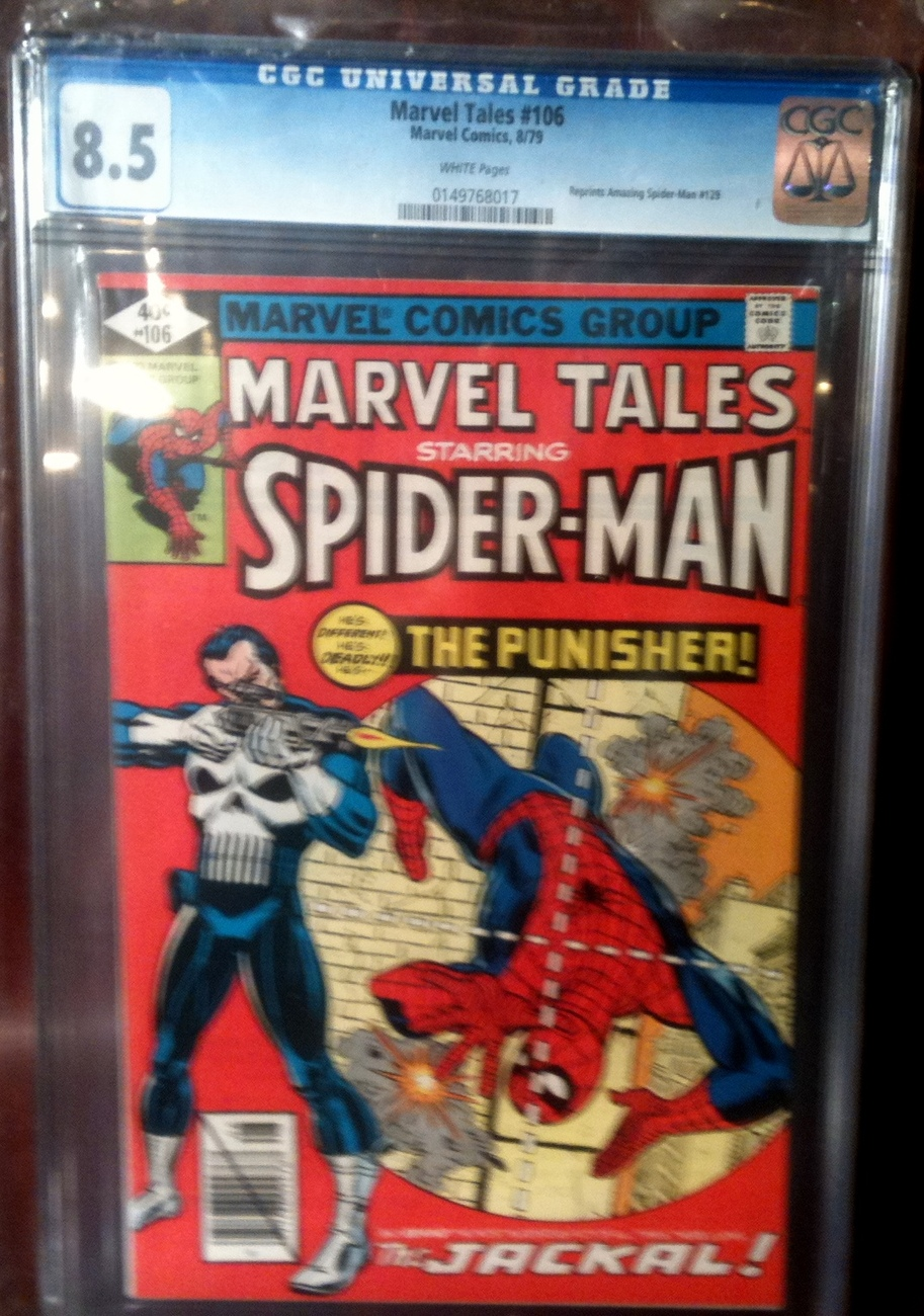 Marvel Tales # 106 CGC Graded 8.5 VF+ Spider-Man