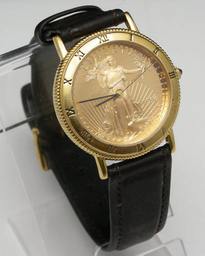 US Mint American Eagle Gold Coin Wrist Watch