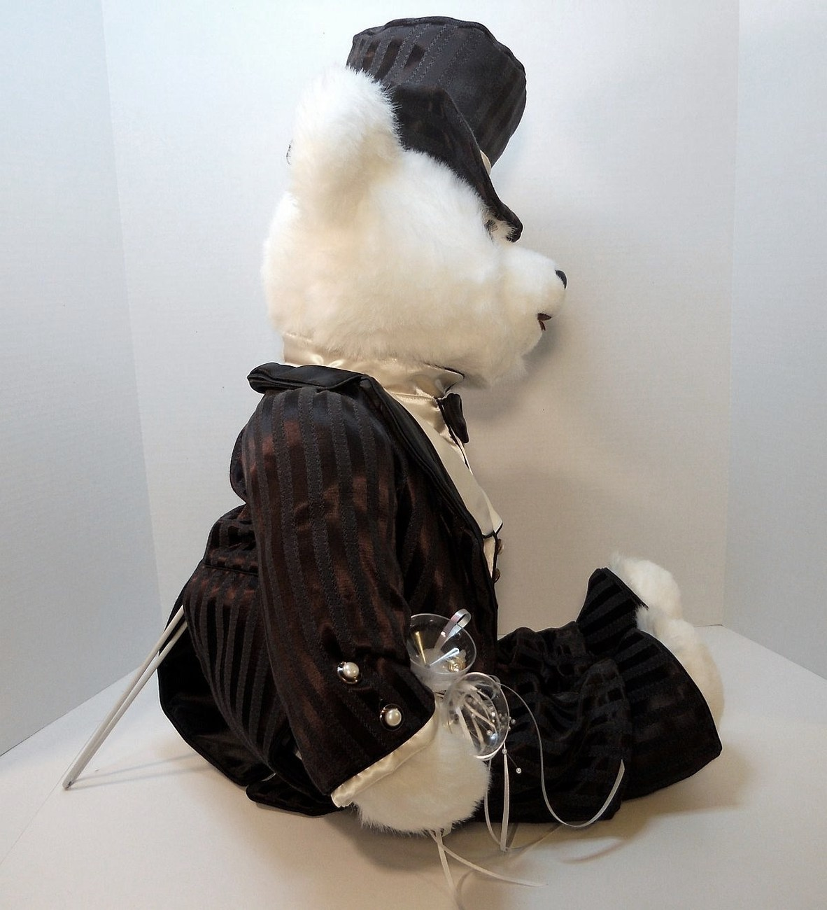 Image 1 of Lord Darlington Groom white Bear Tilly Collectibles 1990 US