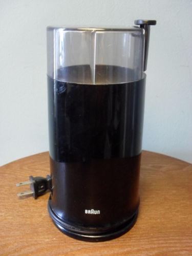Braun Coffee Grinder ~ Braun ksm type aromatic coffee grinder grinders