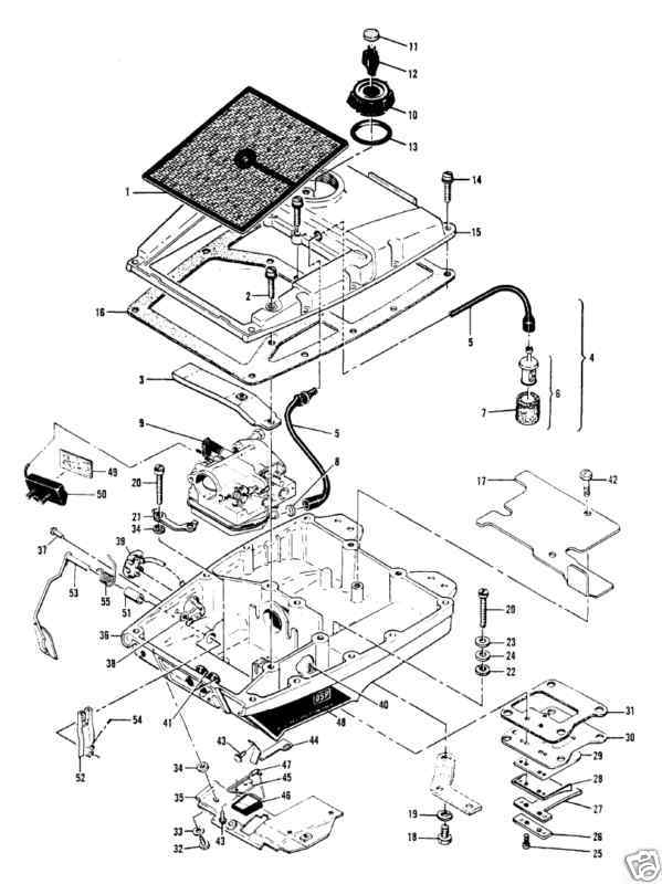 Mcculloch 250 Chainsaw Parts Diagram
