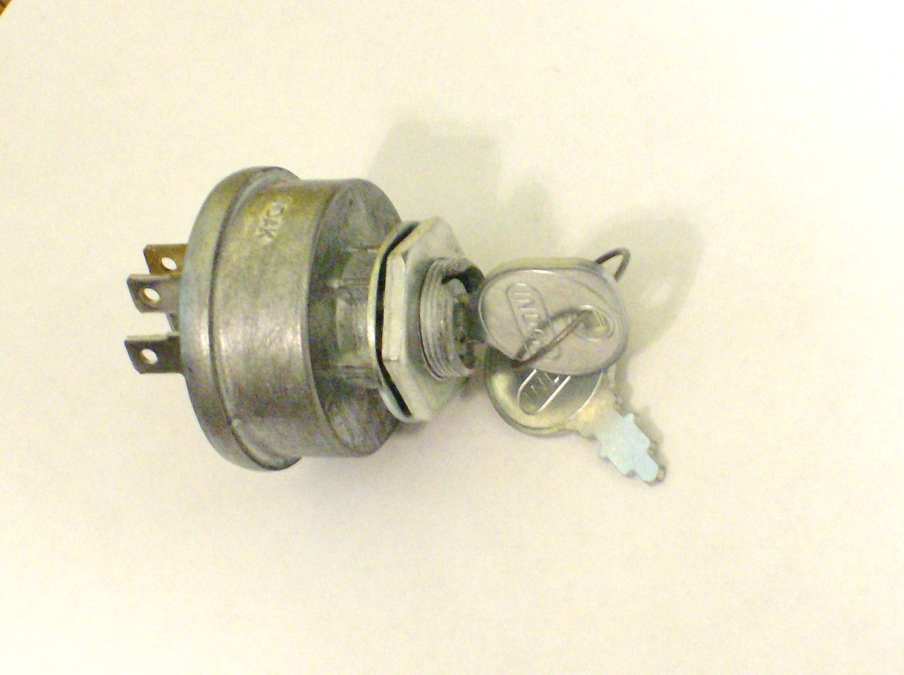 Lawn Tractor Starter Button : Dixon lawn mower ignition starter switch