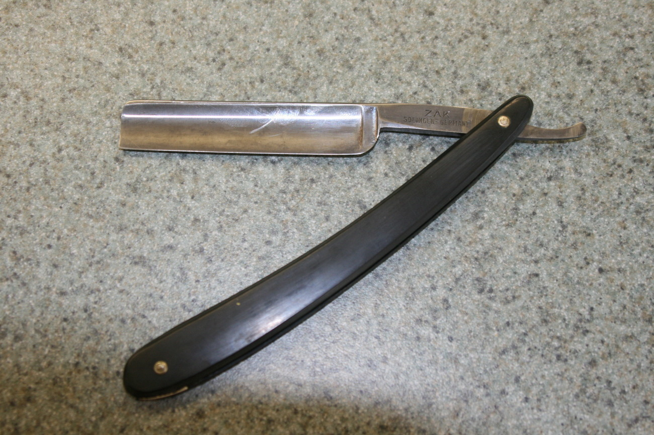 Zak 5/8 Straight Razor Solingen Germany