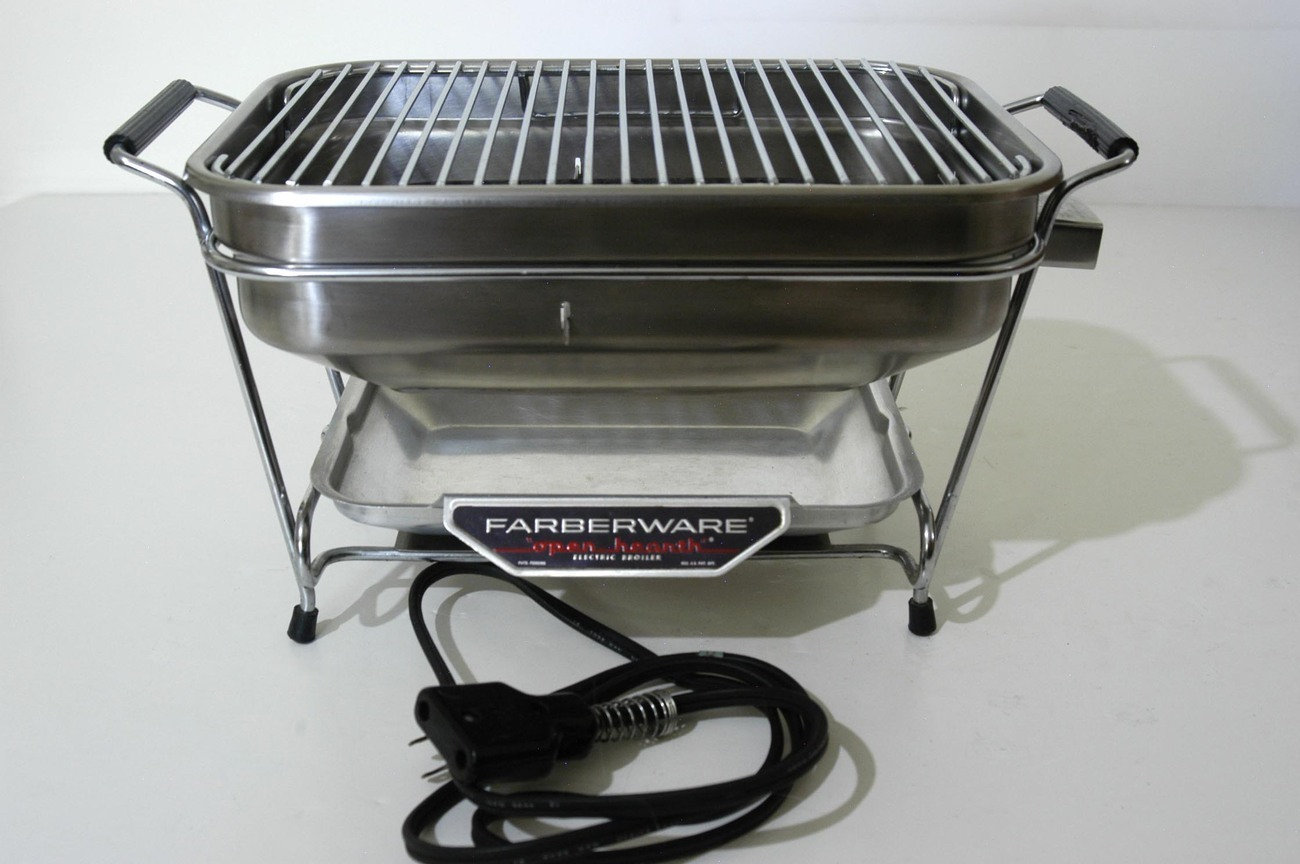 Farberware Open Hearth Electric Broiler Small Size 440 No