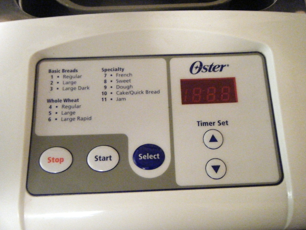 oster bread machine 5814