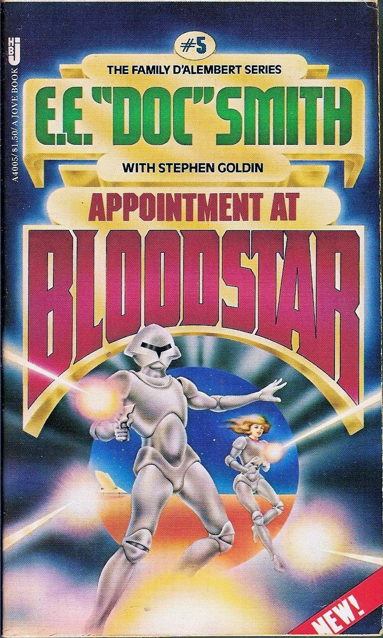 Appointment At Bloodstar The Family D'alembert #5 by E.E. Doc Smith