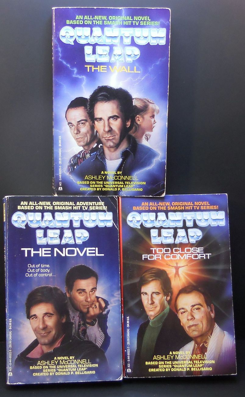 Image 2 of Quantum Leap 3 novels by Ashley McConnell 1992 TV Series