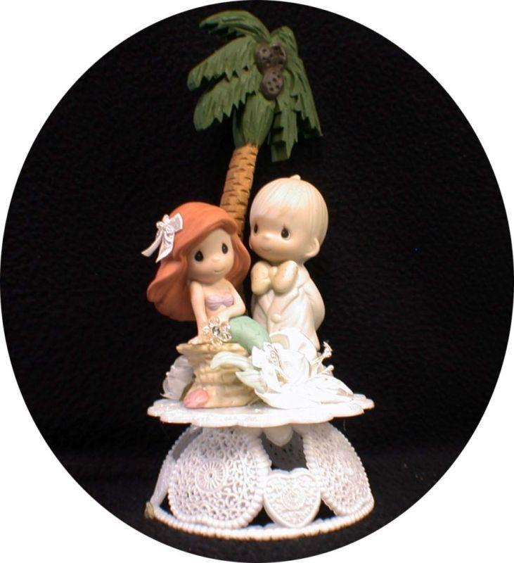 Little Mermaid Precious Moments Wedding Cake Topper P